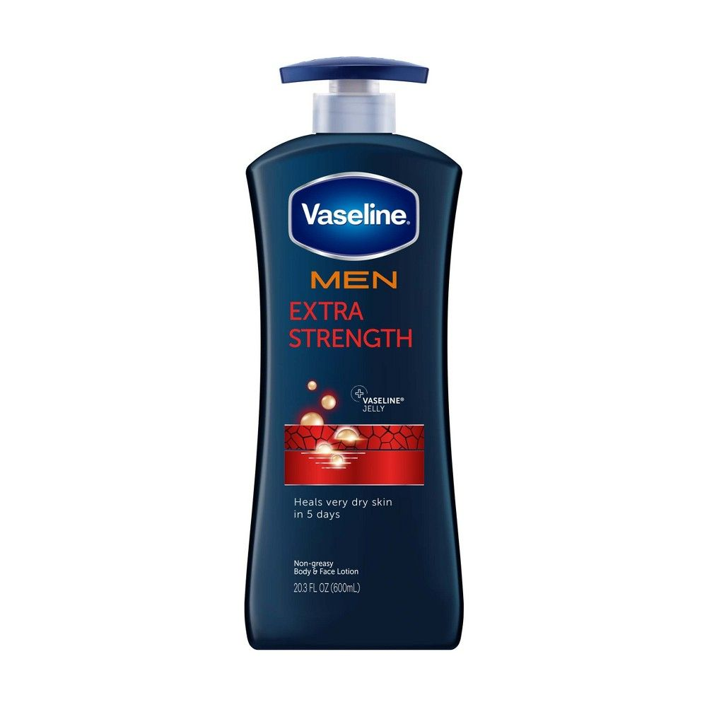 Vaseline Men S Extra Strength Hand And Body Lotion 20 3oz Moisturizer Lotion For Dry Skin Lotion
