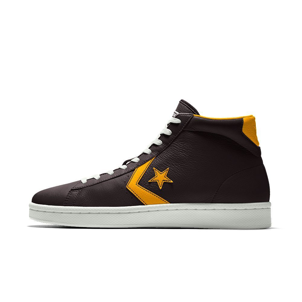 be518e5a1974 Converse Custom Pro Leather Mid Top Shoe Size 12 (Black)