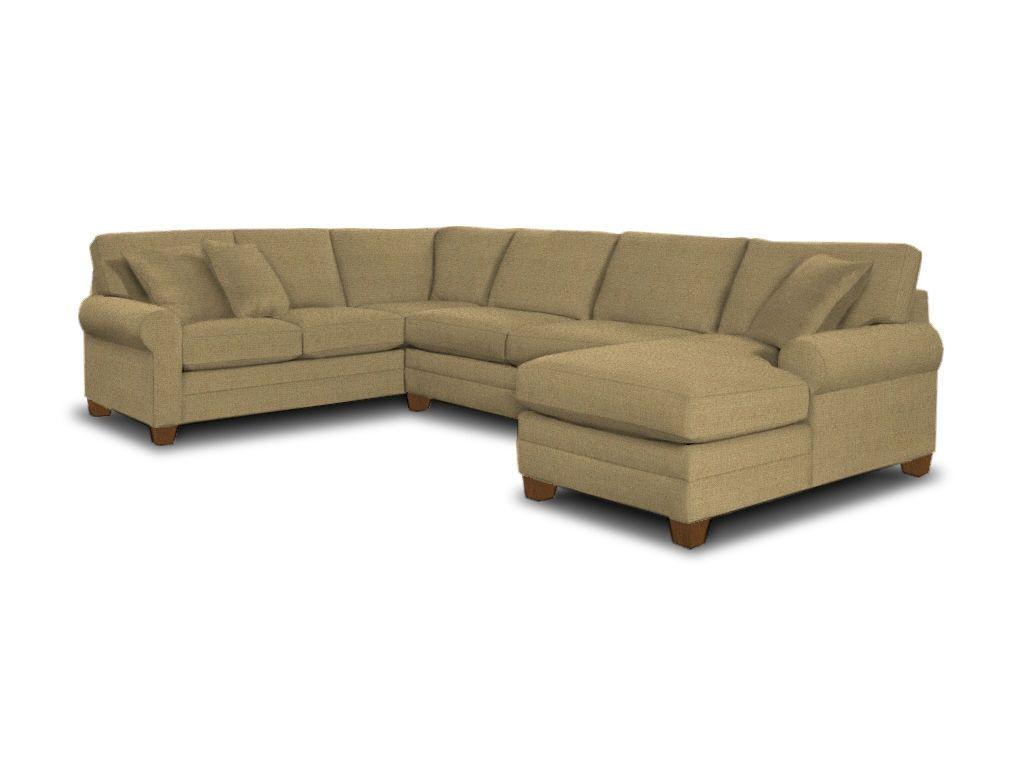 Bassett Living Room U Shaped Sectional 3850 USECTU   Furniture Showcase    Stillwater,