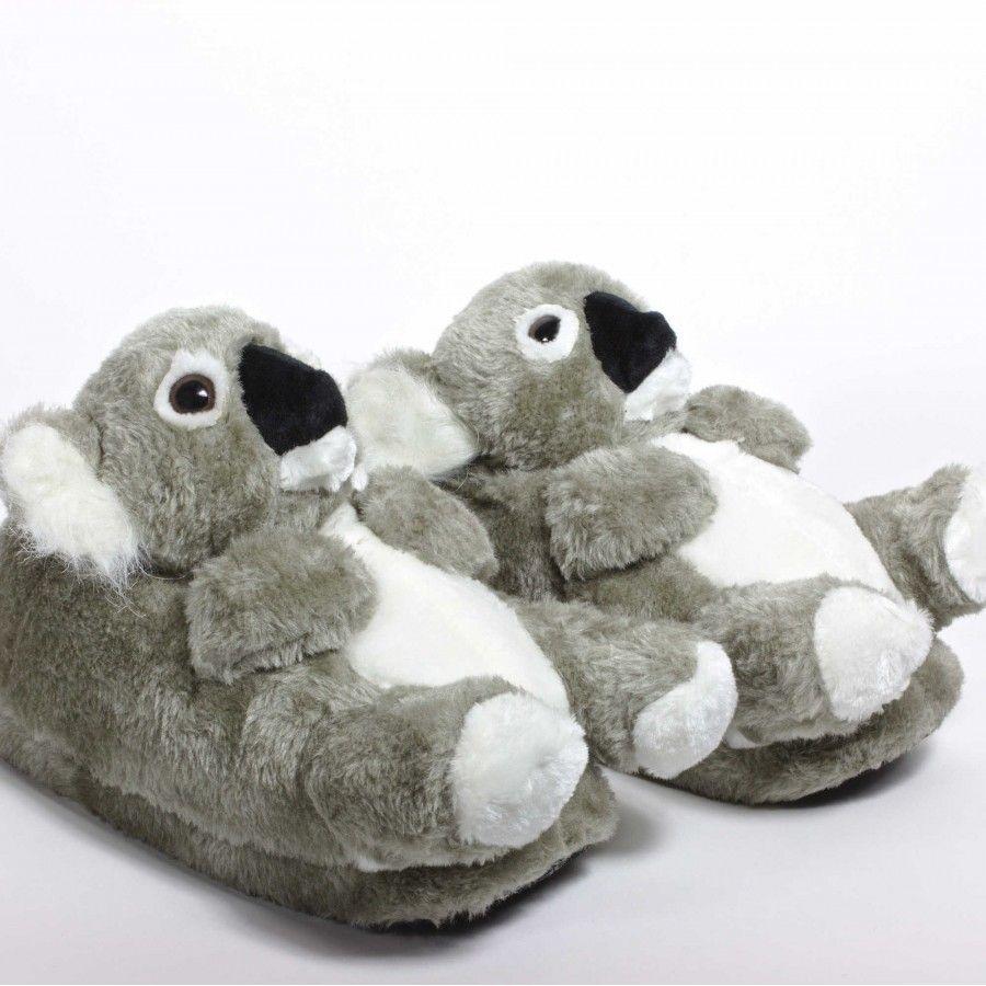 5aa8ff942de Zapatillas de estar por casa animales Koala para hombre
