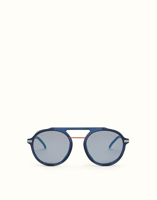 9268c72cbab FENDI FENDI FANTASTIC - Blue AW 17 18 Runway sunglasses - view 1 small  thumbnail