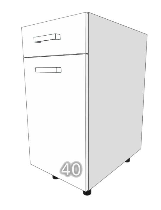 GLOSS One-door / one-drawer cupboard 40cm (Page about …