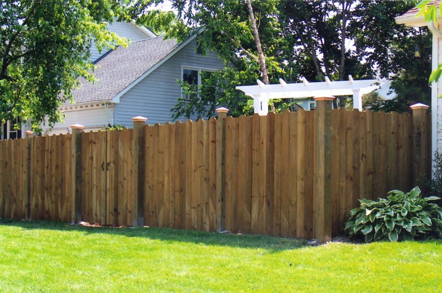 dog ear fence panels dogear privacy u2013 woodshades composite fencing available at loweu0027s