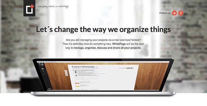 Whitepage Webdesign inspiratie, Webdesign, Inspiratie