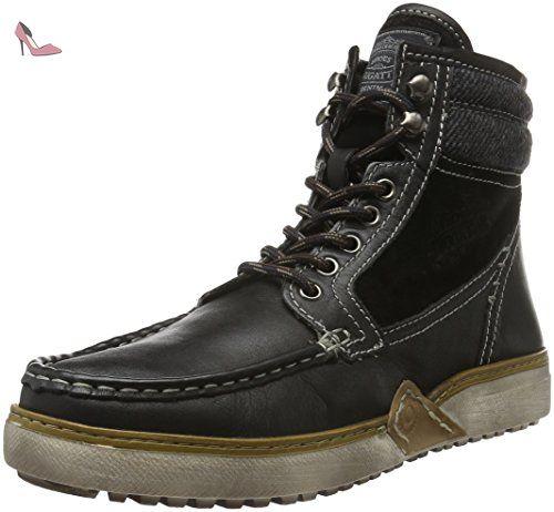 K275913, Sneakers Hautes Homme, Bleu (Dunkelblau 425), 42 EUBugatti