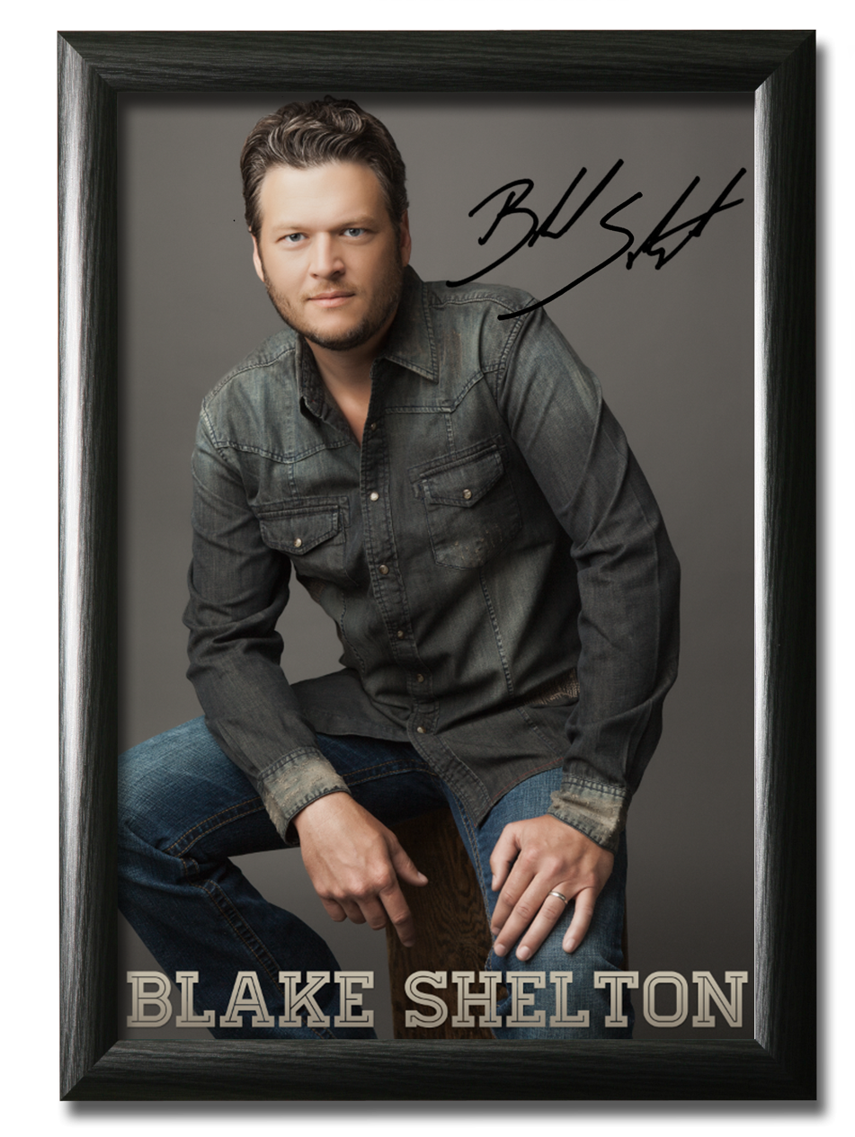blake shelton country artists