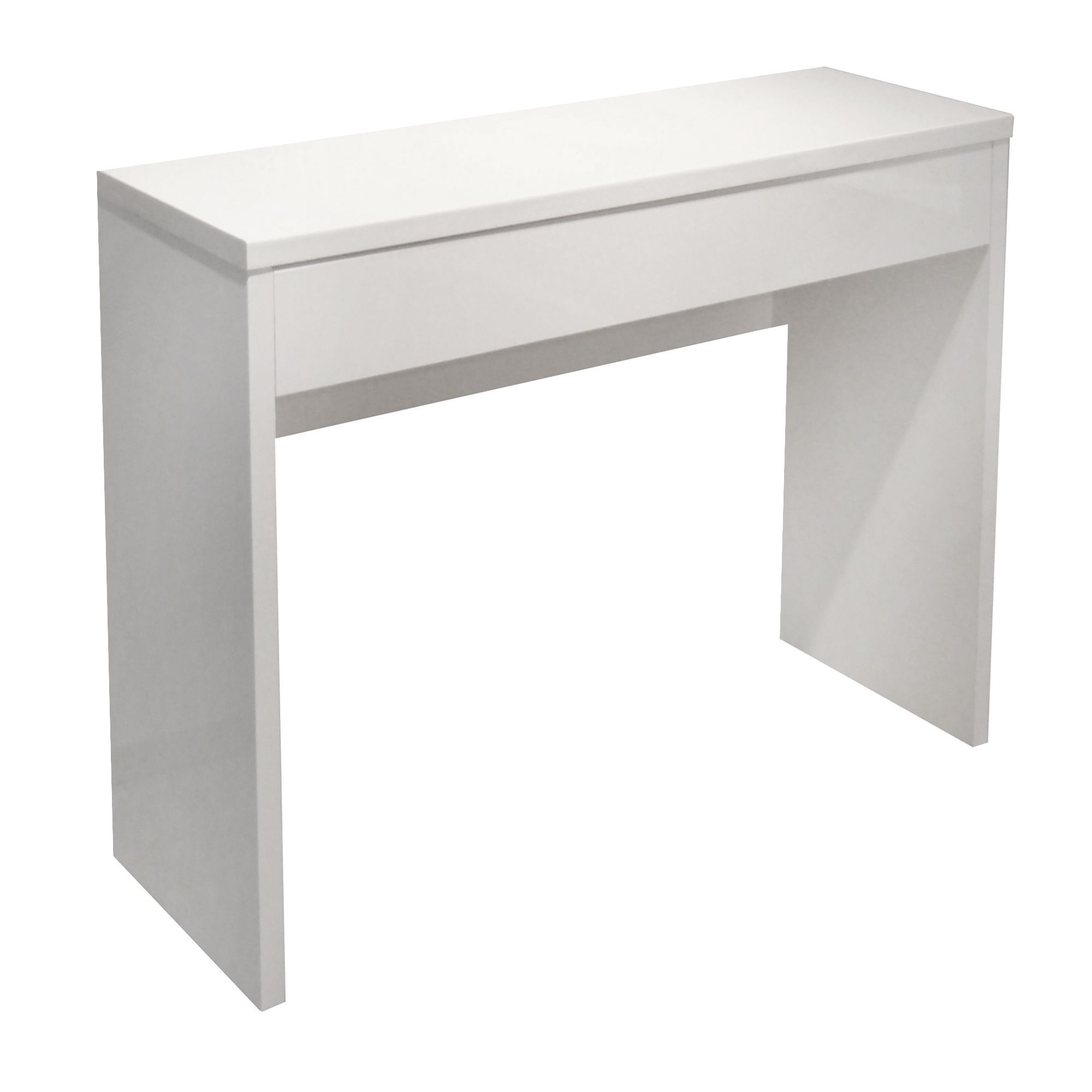 Console Blanc Laque Blanc Lea Les Consoles Consoles Et Tables