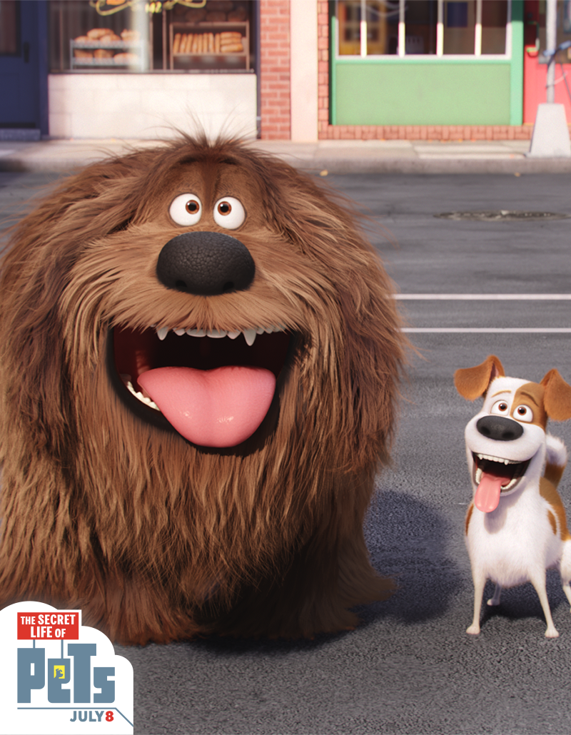 Duke And Max Are So Excited That The Secret Life Of Pets Is Now