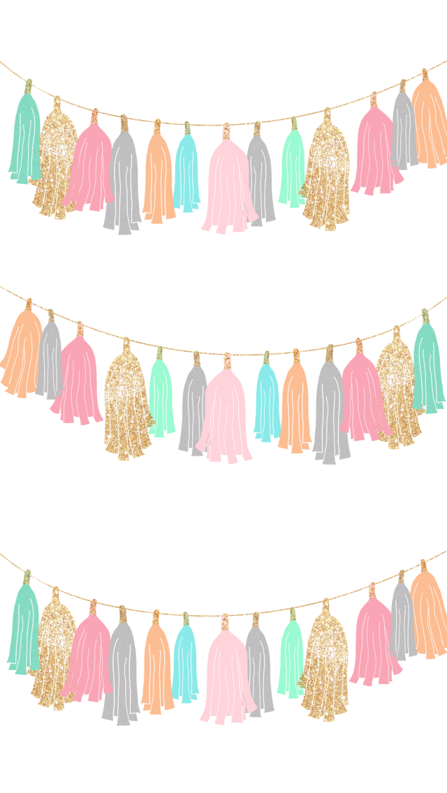Freebie Let S Party Wallpaper Set Cute Wallpapers Cute