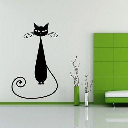 Tall Flower Wall Art from Next Wall Stickers
