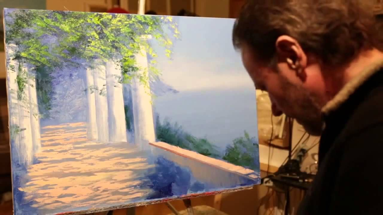 New video tutorials Igor Sakharov Oil Painting on Canvas