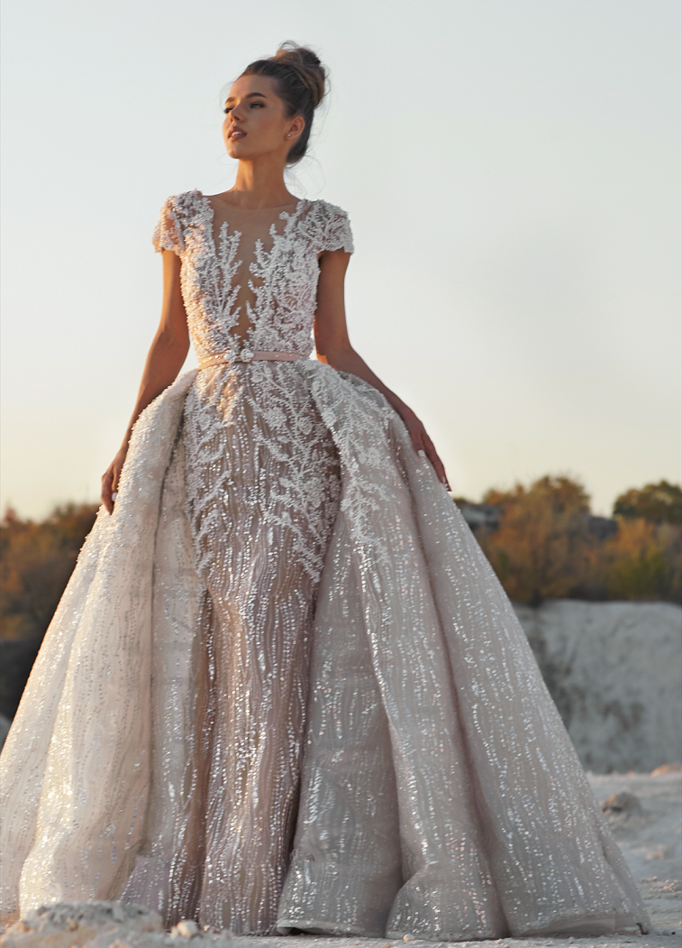MIRIAMS Bride Atelier -  wedding dresses 2019 - Mermaid offf the shoulder long sleeves wedding dress  #weddingdress #weddinggown #weddingdresses