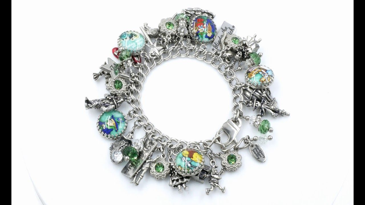 Wizard Of Oz Designer Charm Bracelet