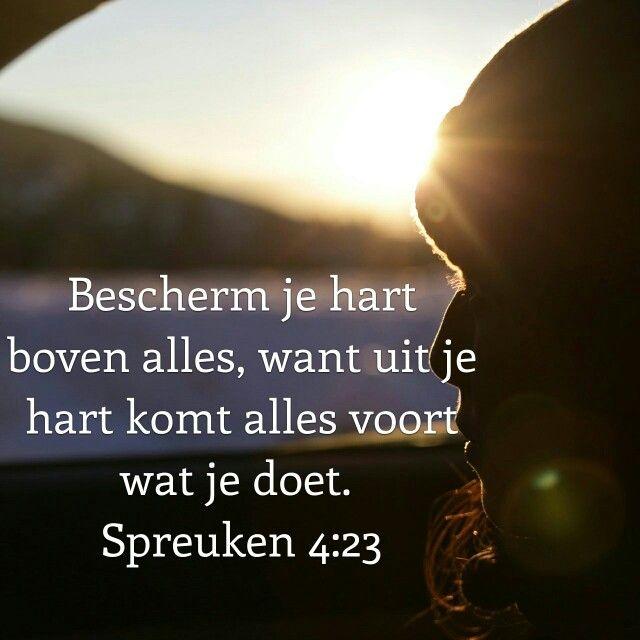 spreuken 4 23 Spreuken 4:23 | Spreuken 4:23 Bewaar Uw hart, boven alles wat er  spreuken 4 23