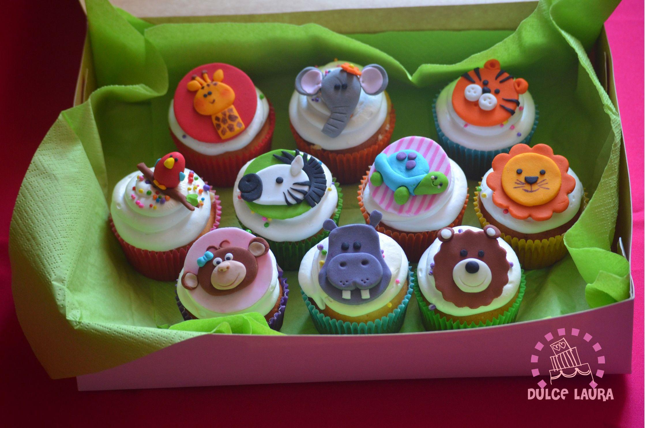cupcakes de la selva #cakelife #DulceLaura