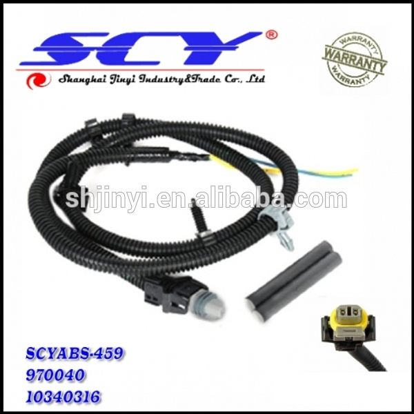 new multifit abs wheel speed sensor wire harness plug pigtail rh pinterest com Trailer Wiring with ABS 2007 Dodge Starter Relay Wiring Diagram