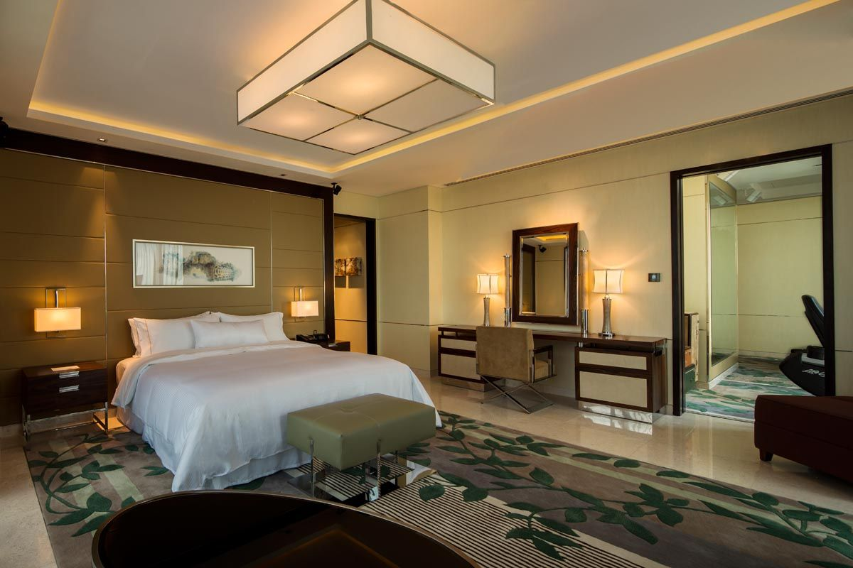 Westin Singapore Presidential Suite Master Bedroom The Westin Hotel Singapore Pinterest