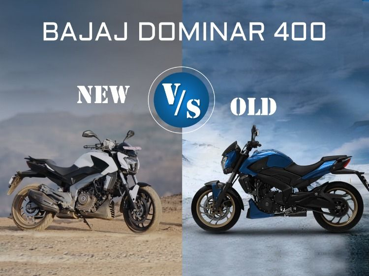 Old Vs New Bajaj Dominar 400 Specs Images Mileage Comparison