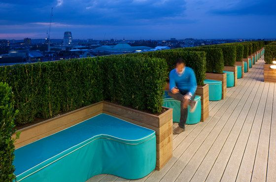 Google Super Hq By Penson Office Facilities Rooftop Patio Roof Terrace Design Roof Terrace