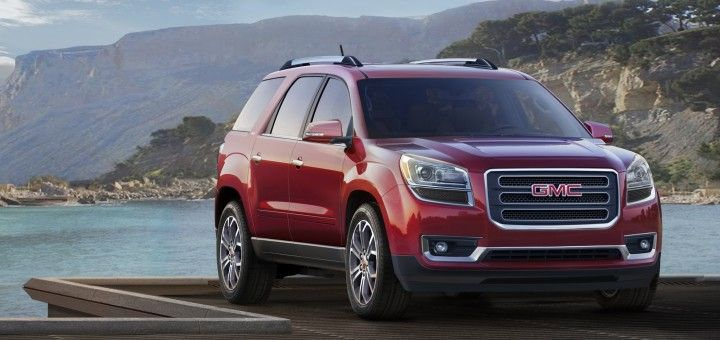 2015 Gmc Acadia Changes And Updates Detailed Rpo Central Gmc Suv Crossover Suv Best New Cars