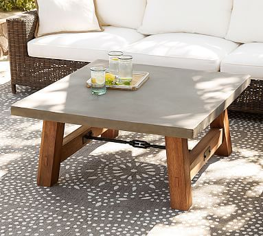 Pleasing Abbott Concrete Square Coffee Table 40 At Pottery Barn Spiritservingveterans Wood Chair Design Ideas Spiritservingveteransorg