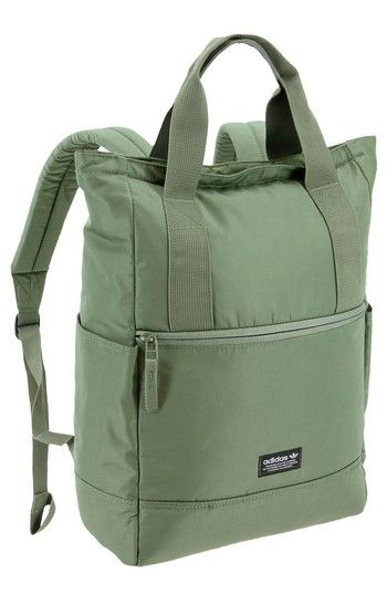 Adidas Originals Originals Tote Pack II mochila verde