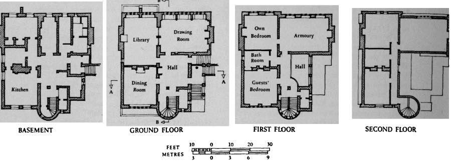 Tower House 29 Melbury Road Kensington London William Burges 1875 1881 Tower House Floor Plans British History
