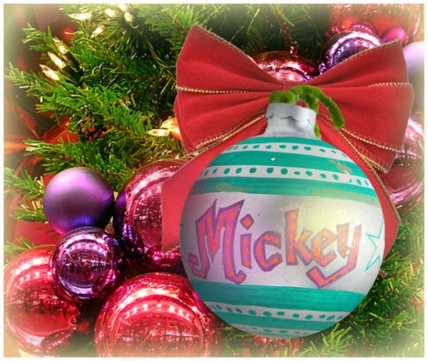Vote for your favorite ornament from the Horton Family Tree!  Mickey was one of the original seven ornaments by Grandma Horton in 1971.