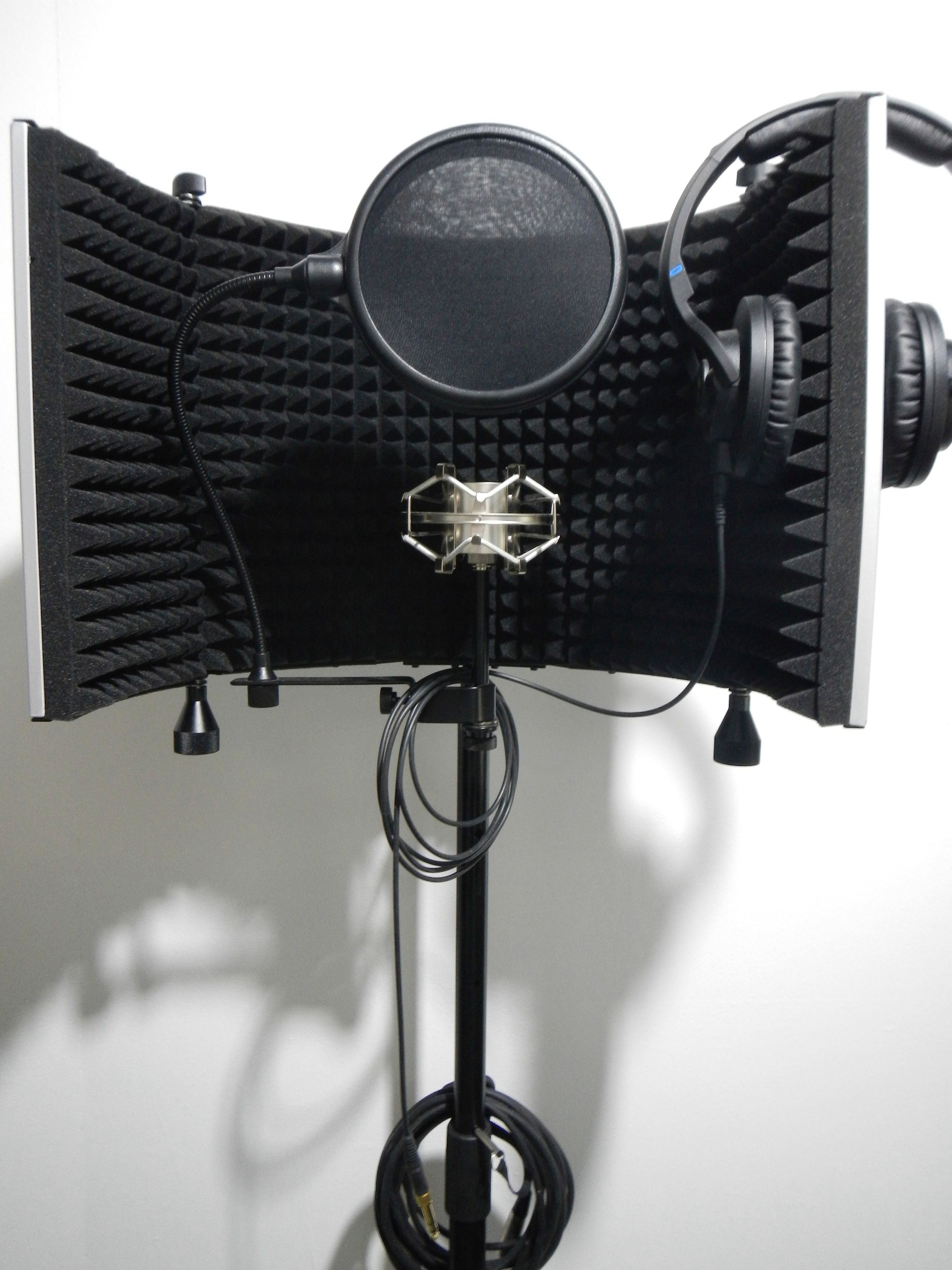 portable vocal booth the bunker recording studios gear pinterest