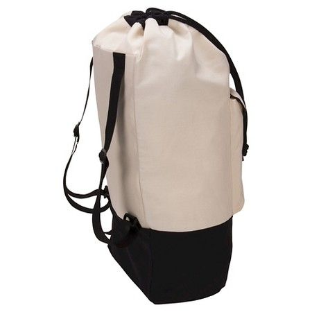 Household Essentials Backpack Duffel Laundry Bag Canvas Drawstring