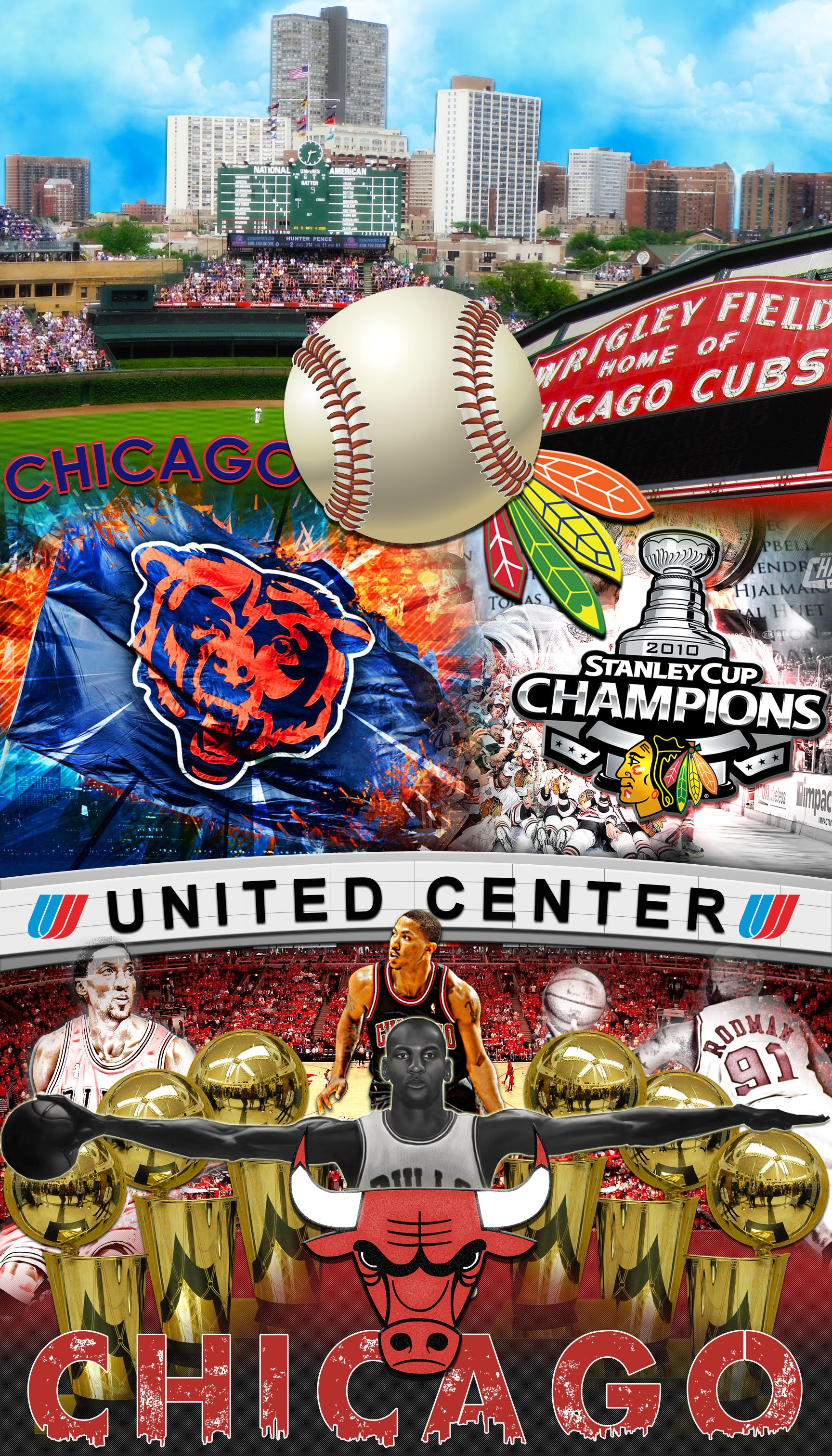 Chicago Sports Cornhole Decal Chicago Bulls Chicago Bears Chicago Black Hawks And Chicago Cubs Bean Bag T Cornhole Decals Cornhole Stickers Chicago Sports [ 3024 x 1728 Pixel ]