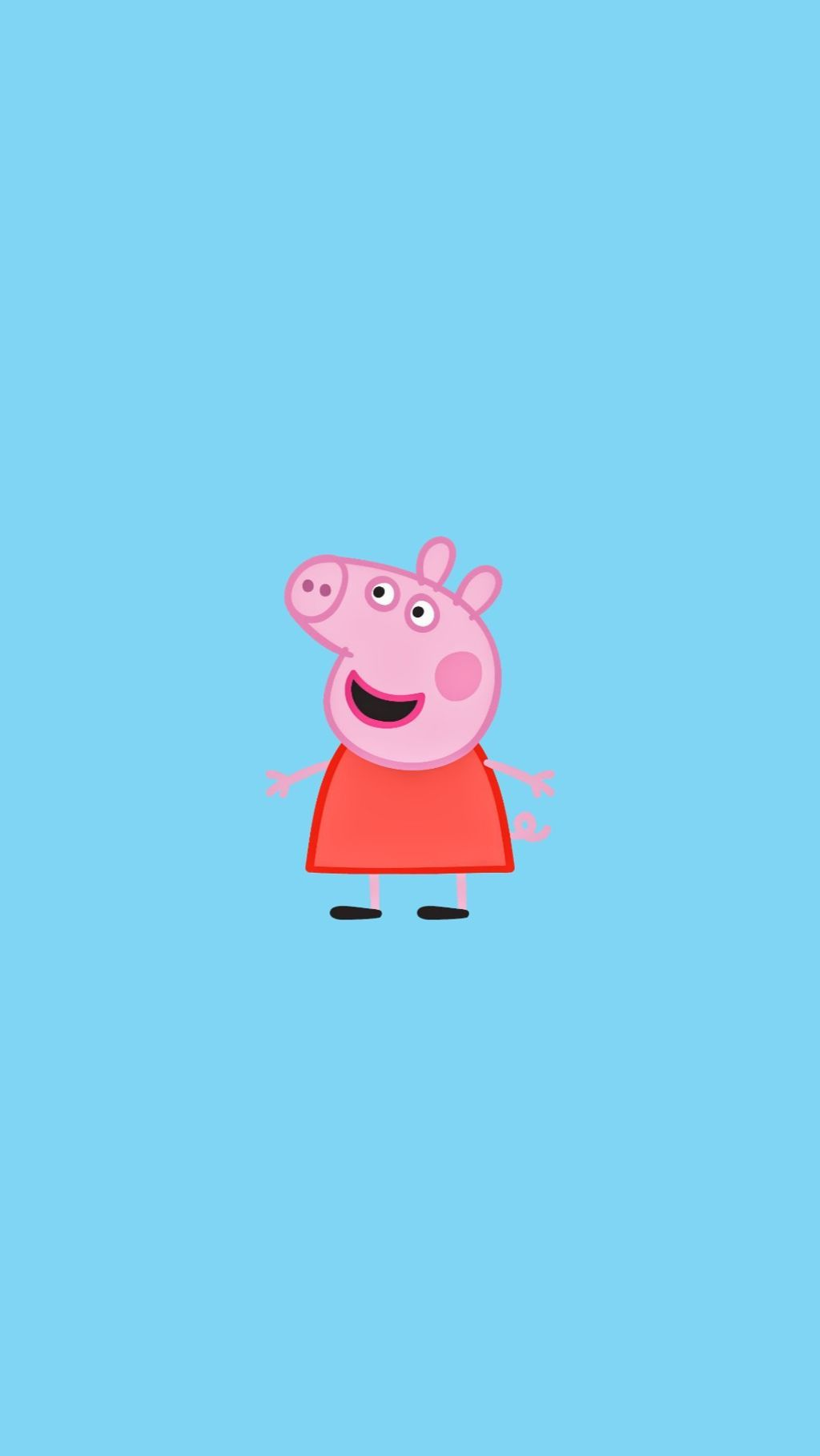 Sksksk and I oop (With images) Peppa pig wallpaper, Pig