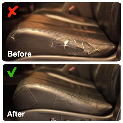 Leather Repair Patch Sofa Car Seats Handbags Shoes Jackets Kit Adhesive Backing