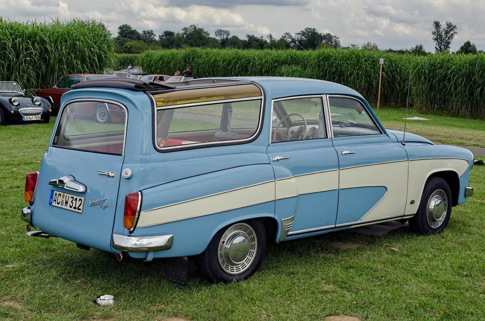 1966 wartburg 312 1000 camping wagon alte ost ifa. Black Bedroom Furniture Sets. Home Design Ideas
