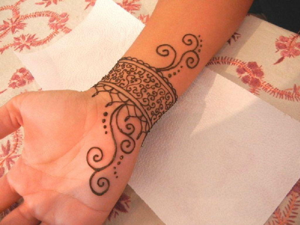 Mehndi Wrist Tattoo : Hd mehndi designs beautiful eid collection for girls best