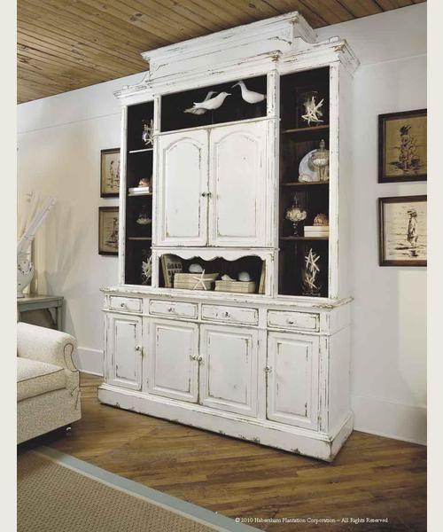 Habersham Cabinets Kitchen: Habersham - Sea Island Bookcase/Media Cabinet