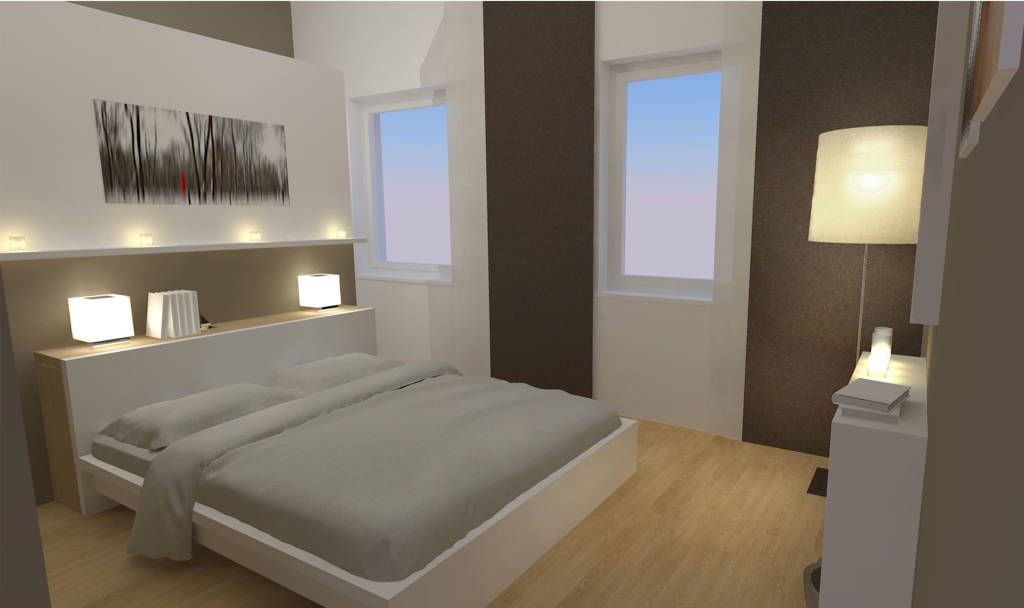 moderne schlafzimmer bilder: schlafzimmer wohnung p. | moderne