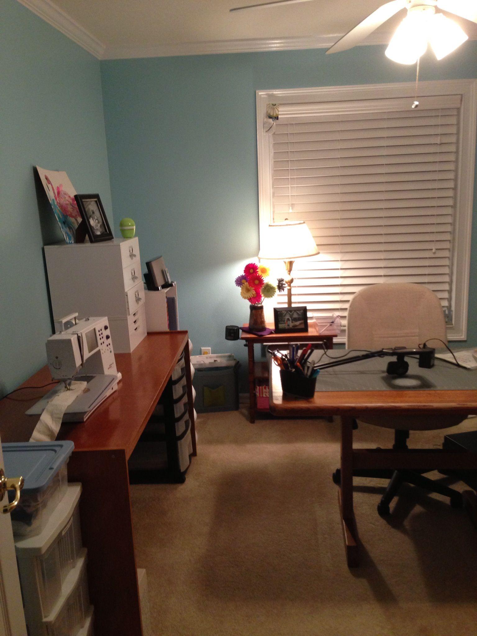My Craft Room Sherwin Williams Cay Office Ideascraft Roomsnursery Ideaspaint