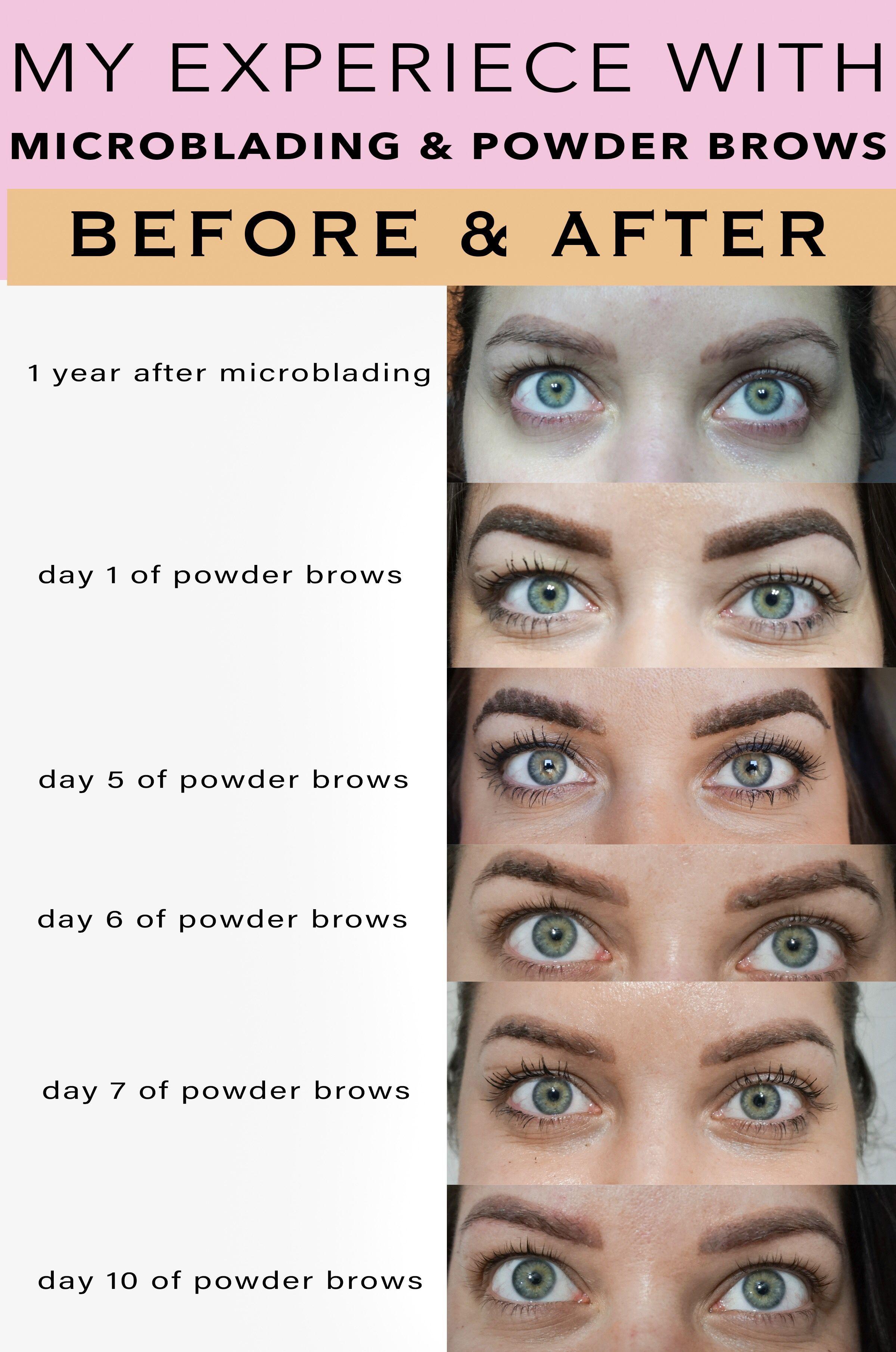 My Experience with Powder Brows (Eyebrow Tattoo Eyebrow