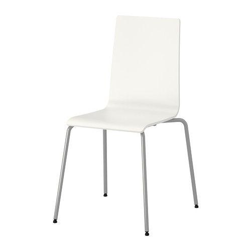 IKEA - MARTIN, Silla, Las sillas se pueden apilar para ahorrar ...