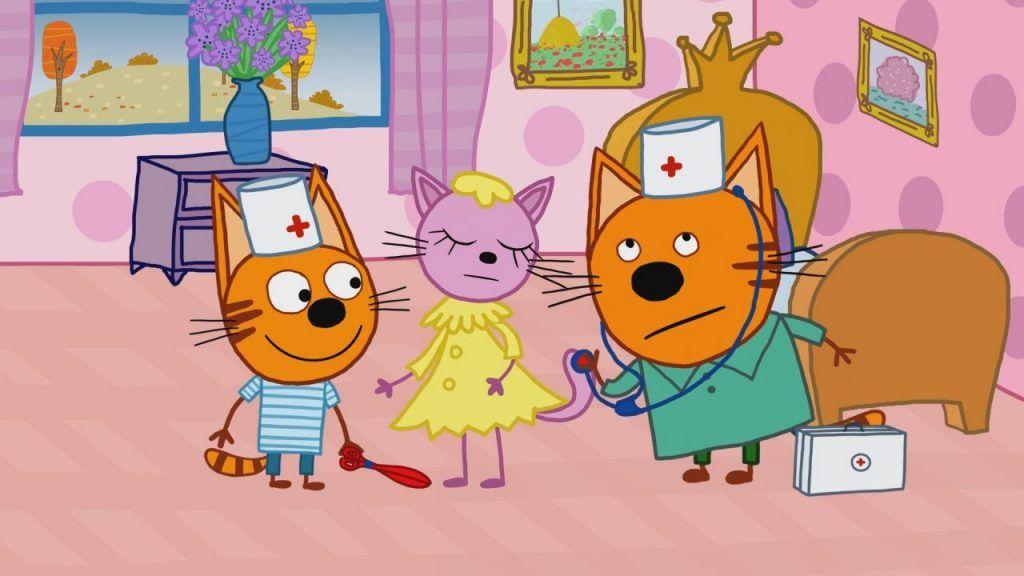 Картинки по мультсериалу «Три кота» (36 фото) | Детские ...