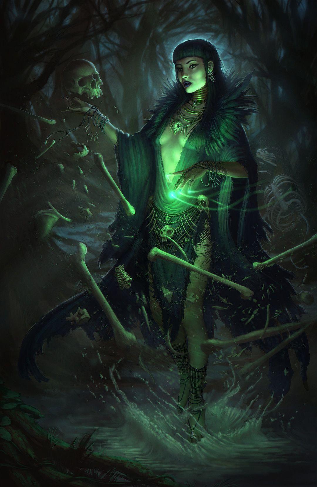swamp witch däck