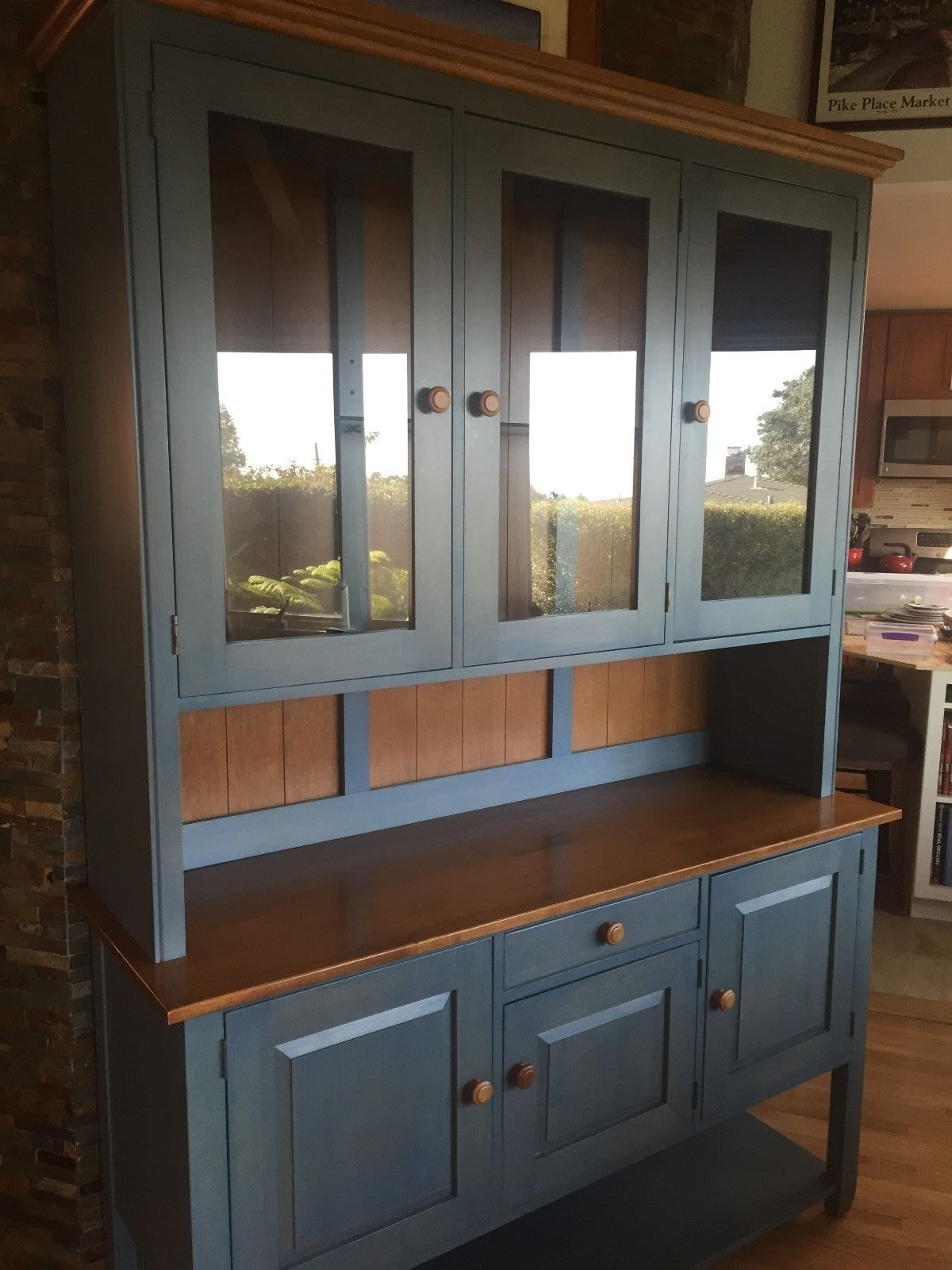Ethan Allen Country Colors Buffet/Hutch | Buffet, Furniture ideas ...