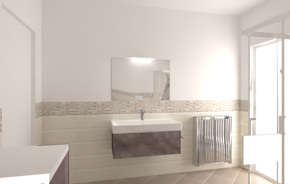 New Classic Bathroom design by Erika Ribero with products by ...