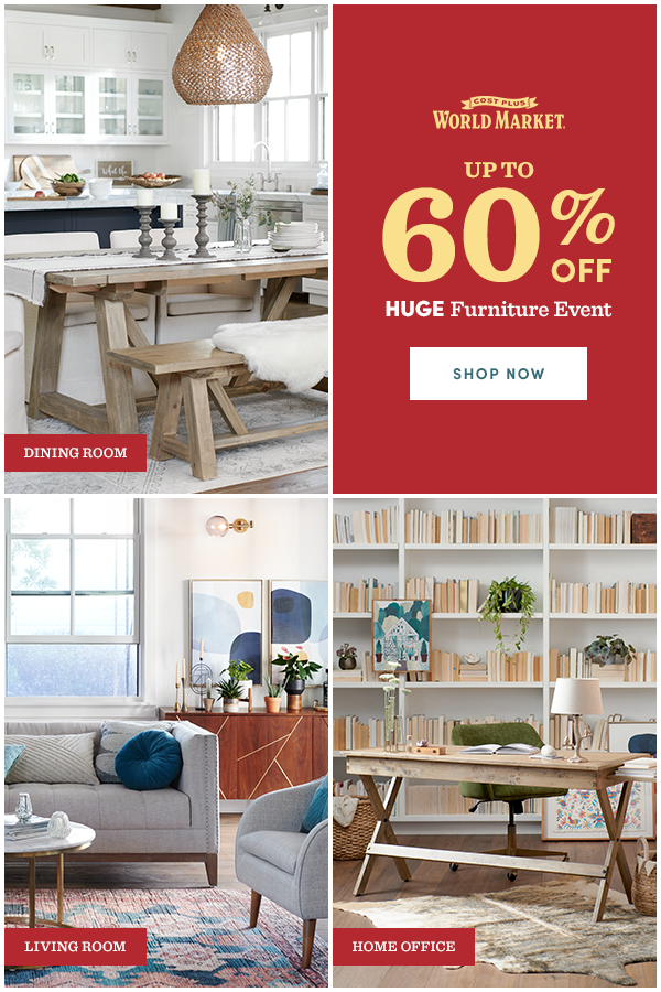 Shop Reduced Prices Now At Cost Plus World Market If Your Dining Room Is The Ultimate Gathering Place Your Livin Big Furniture Affordable Furniture Furniture