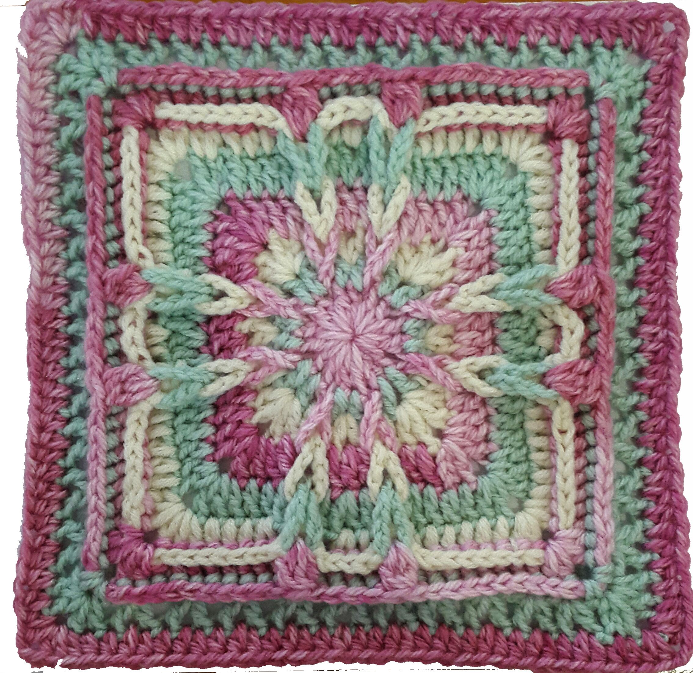 BRONWYN SPICE designed for Square A Week | Granny Squares ...