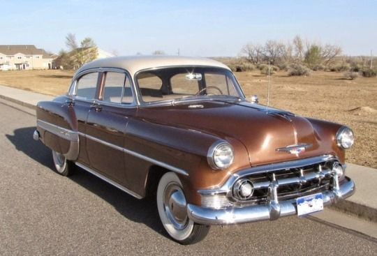 1953 Chevrolet Bel Air 4 Door Sedan Chevrolet Bel Air Chevy Vehicles Classic Cars Chevy