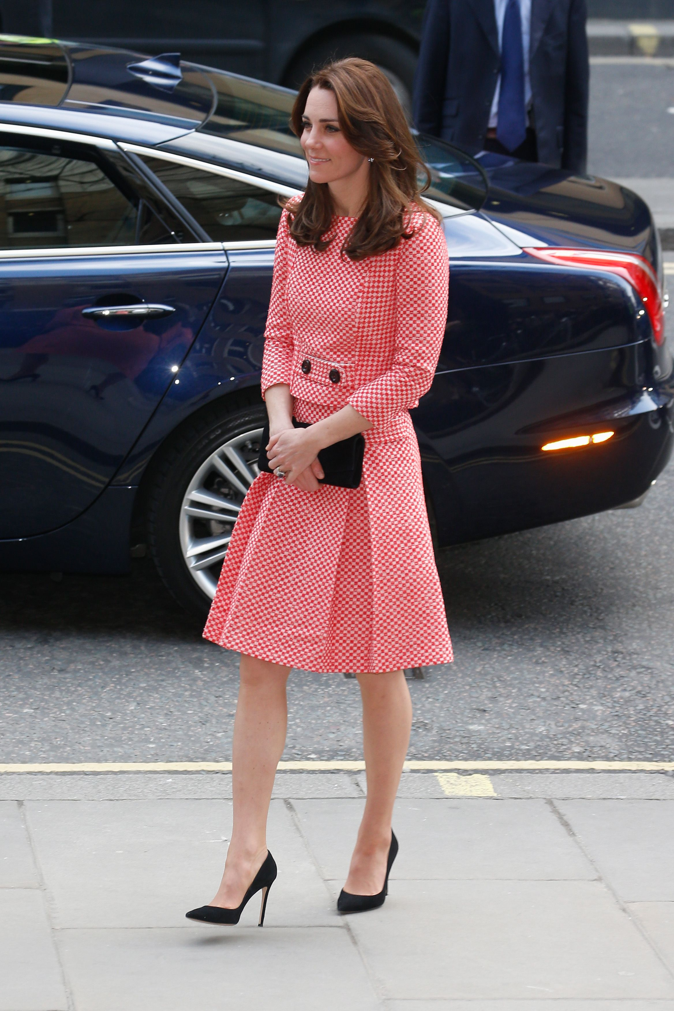 Kate Middleton Wore a Pretty Cream Coat Today