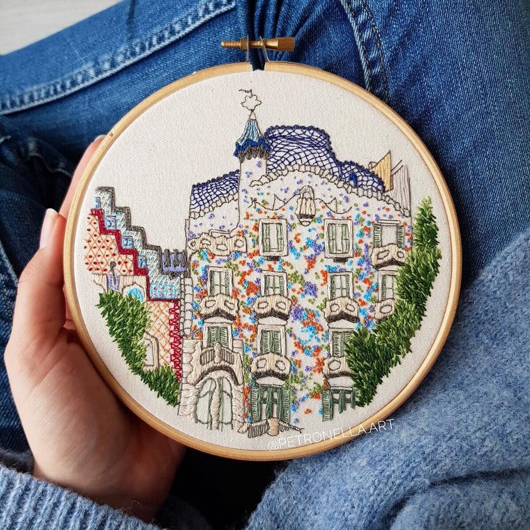 100 Vintage Book Embroidery Crewel Needle Kit Needlework Pattern Design Yarn 264