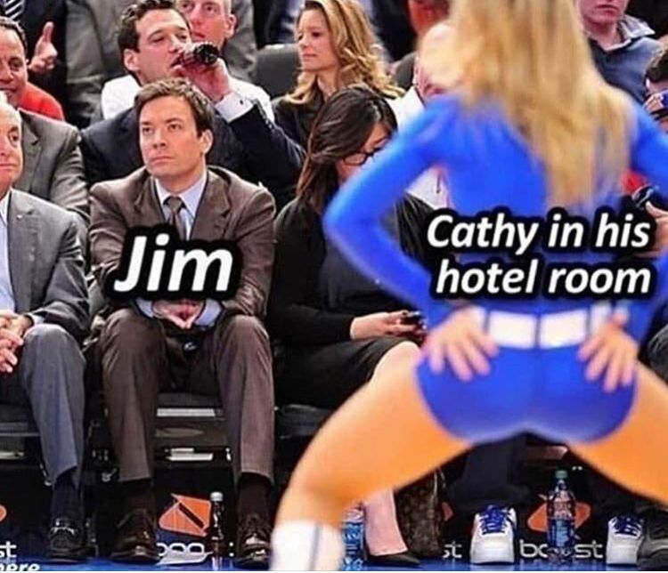 Jim Was All Of Us Tho Office Memes The Office Show The Office